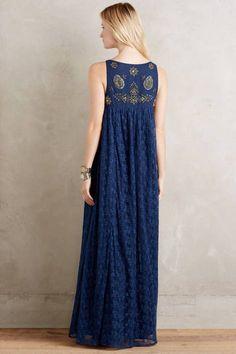 Catalin Maxi Dress by Korovilas Dress Outfits, Fashion Dresses, Dress Up, Vogue Fashion, Boho Fashion, Stitching Dresses, Mode Boho, Indian Dresses, Cotton Dresses