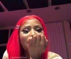 Imagem de reaction, red hair, and nicki minaj Lil Durk, Funny Reaction Pictures, Meme Pictures, Lil Wayne, Stupid Funny Memes, Funny Relatable Memes, Chris Brown, Nicki Minaj Quotes, Nicki Minaj Wallpaper