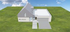 Projekt domu Nowoczesny 1 216,3 m2 - koszt budowy - EXTRADOM House Plans, New Homes, Floor Plans, How To Plan, Build House, House Floor Plans, Floor Plan Drawing, Home Plans