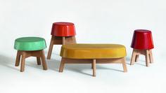 ¿Setas? ¿Botones? Ceramicables, los asientos más coloristas de Esrawe Studio  hector esrawe