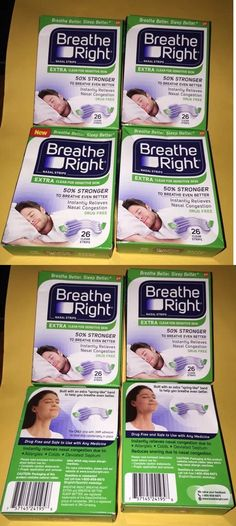 Other Sleeping Aids: 104 Breathe Right Nasal Strips Extra Clear Adult Size Sensitive Skin BUY IT NOW ONLY: $35.99