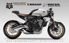 TT BIGBIKE DESIGN: HONDA CB650F TT-RACER CONCEPT