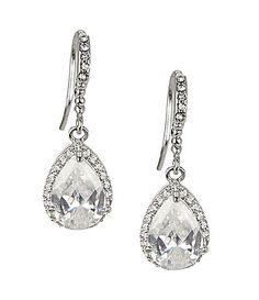 Nina Jewelry Gale Drop Earrings #Dillards