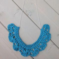 gooseberryfool crochet necklace