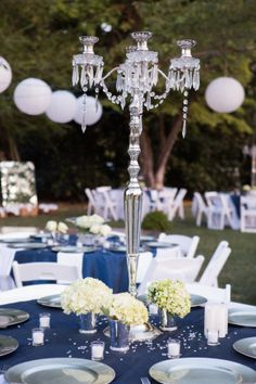 Beautiful Navy and White August Wedding in Tennessee by Evin Photography   Two Bright Lights
