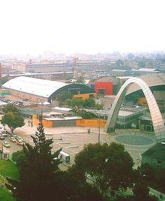 Entrada a Corferias. Bogotá