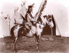 Lakota Chief Two Sticks