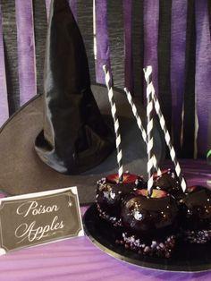 Witchy Halloween Party Poison Apples! #TrickUrTreat #shop #cbias
