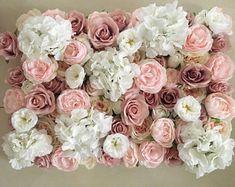 Flower Wall Wedding, Floral Wedding, Wedding Flowers, Flower Wall Backdrop, Wall Backdrops, Wedding Backdrops, Decoration Photo, Background Decoration, Fake Flowers