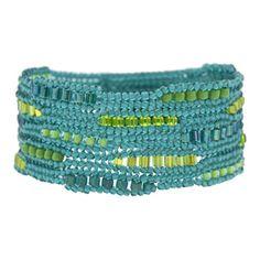 Caribbean Ndebele Bracelet Kit by Glass Garden Beads   Fusion Beads
