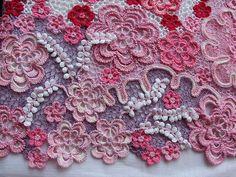 Irische Häkelei häkeln - irish crochet lace - Miroslava Gorokhovich