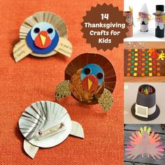 These great Thanksgiving crafts create a festive mood the whole family can enjoy! Check out these exciting thanksgiving crafts for kids from Disney Family. Thanksgiving Crafts For Kids, Thanksgiving Traditions, Thanksgiving Decorations, Fall Crafts, Holiday Crafts, Holiday Fun, Kids Crafts, Thanksgiving Turkey, Holiday Ideas