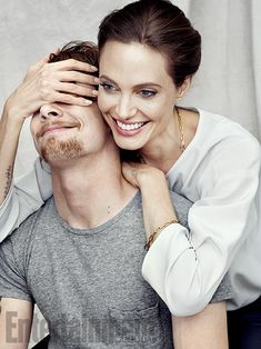 ''I think [Jack and I] maybe both have a restlessness. We both want to be doing a thousand other things, and it's hard to make us still.'' —Angelina Jolie