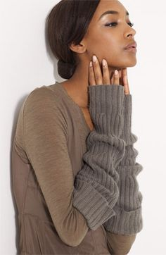 a sweater for your arms!!!