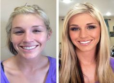 Makeovers that Los Angeles makeup artist Brittany Renee has performed through her hair and makeup work. Includes before and after makeup and hair pictures. Amazing Makeup Transformation, How To Apply Lipstick, How To Apply Mascara, Medium Coverage Foundation, Liquid Foundation, Makeup Foundation, Steaming Your Face, Beauty Makeover, Make Up