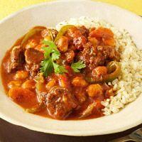Smoky Beef & Hominy Stew  Recipe