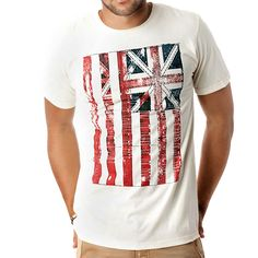 """""""Under two flags"""" tee"""