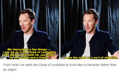 Yes! The Cloak of Levitation
