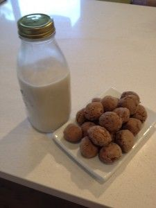 RECIPE: Milk and Cookies (the healthy version!) www.angelacounsel.com #secretmumsbusiness Afternoon Tea, Counseling, Glass Of Milk, Cookies, Healthy, Recipes, Food, Crack Crackers, Biscuits