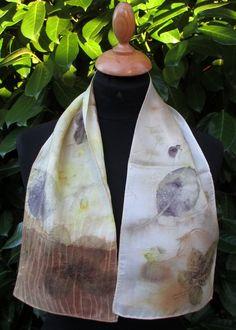 Petite écharpe en soie Fil de Lune www.fildelune.com