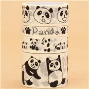 Paper Tape set panda bear animal