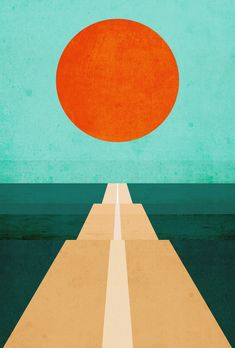 "New Post has been published on http://moreposter.de/poster-the-road-less-traveled-von-budi-kwan/ "" Poster 