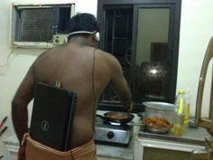 I Don't Need No Stinkin' iPod.  lol