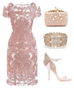 Designer Clothes, Shoes & Bags for Women Prom Outfits, Dressy Outfits, Stylish Outfits, Pretty Dresses, Beautiful Dresses, Dusty Pink Dresses, Classy Dress, Gossip Girl, Polyvore Outfits