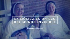 """""""La música es un eco del mundo invisible"""" Giuseppe Mazzini #SantaCecilia Feliz día a todos los músicos"""