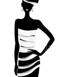 Fashion Illustrations by Eli Maier & Alexandra Zaharova