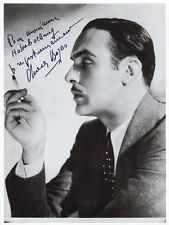 CHARLES BOYER - INSCRIBED PHOTOGRAPH SIGNED 01/22/1982