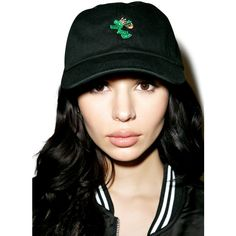 40s & Shorties Make It Rain Deconstructed Hat ($28) ❤ liked on Polyvore featuring accessories and hats