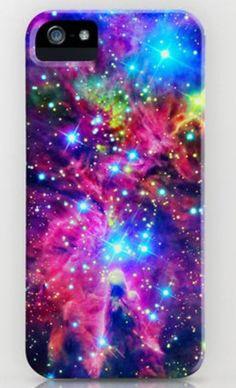 Galaxy iPhone case love!!