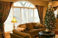 Window Treatments For Great Room Windows Two Story