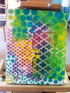 Julie Balzer art pattern