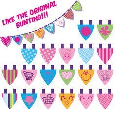 DIGITAL Shopkins feliz cumpleaños Banner Shopkins por KabooStudio