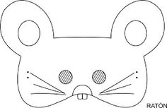 Printable lamb mask to color projects pinterest - Stencil motivo giraffa ...