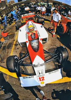 Ayrton Senna l Détroit 1988 (©McLaren Racing Ltd)