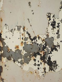 dailyartjournal:    Rusty Peeling Paint Texture by Kathryn Wells's Porfolio on Flickr.