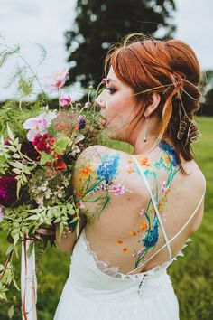 Body Art - Sami Tipi Wedding  Image by Frankee Victoria Photography