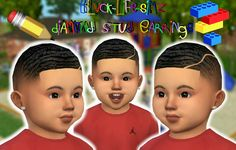 """kikovanitysimmer: """" BLS Diamond Stud Earrings for Toddlers Too Cute I Couldn't Help My Self! Blvck Life Sims Original Mesh: here Mesh Inclued Enabled For Female And Male DOWNLOAD HERE!  - FEEL FREE TO TAG #KIKOVANITY SO I CAN"""