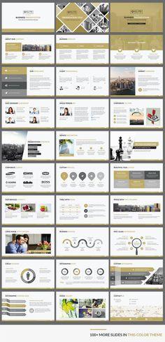 Elite corporate PowerPoint template makes your presentation slides sizzle Ppt Design, Design Powerpoint Templates, Ppt Slide Design, Professional Powerpoint Templates, Booklet Design, Design Layouts, Design Posters, Brochure Design, Flyer Template