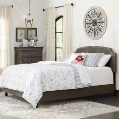 Found it at Wayfair - Antoine Panel Bed
