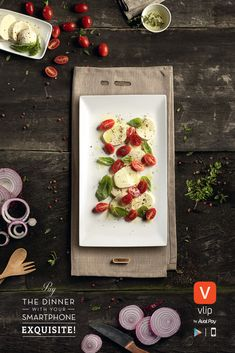 Vlip by Aval Pay: Steak, Pasta, Caprese 3