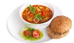 Gjellë me perime dhe mish të grirë - Receta + Fotografi | Kuzhina Shqiptare