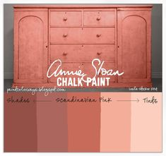 Color match of annie sloan chalk paint colors to sherwin for Chalk paint at sherwin williams