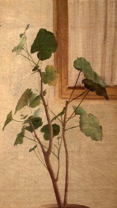 Ferenczy Károly: Kertészek, részlet, 1891 , olaj, vászon, 134,5 x 155,5 cm
