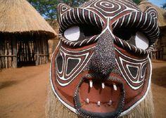 Zimbabwe Tribal Mask
