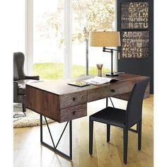Hendrix Desk in Desks | Crate and Barrel