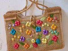 NOUVEAUTÉS | La Fouineuse Mode Vintage, Straw Bag, Etsy, Bags, Fashion, Art Crafts, Objects, Accessories, Handbags